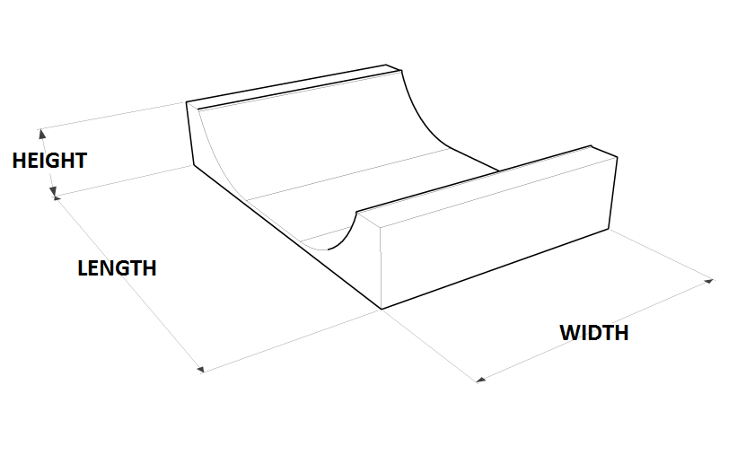 Quarter Pipe Dimensions