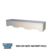 Skateboard Ledge / Grind Box 6ft Long