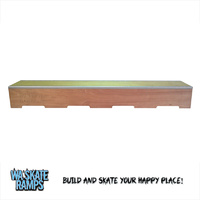 Skateboard Ledge / Grind Box 8 ft Long