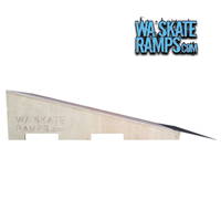 Wedge Ramp 3 Ft Wide Skateboard Jump Ramp