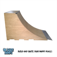 Quarter Pipe Skate Ramp 4 ft high x 6 ft wide