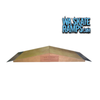 2 x Wedge Ramps Skate Jump Ramps  4 Ft Wide